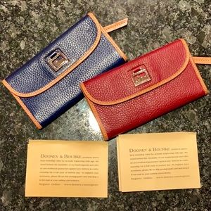 Dooney & Bourke Leather Clutch Wallet(s)